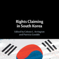Rights Claiming in South Korea book cover