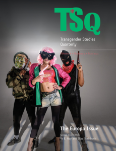 TSQ journal cover