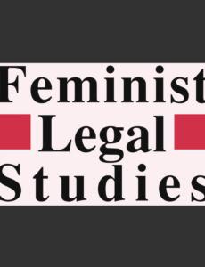 Cover of Feminist Legal Studies journal
